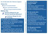 Flyer der JuLis_Weigel_Rückseite